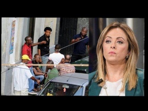 """Italia nel mirino della mafia nigeriana. Giorgia Meloni: """"La sinistra ci attaccò, ora lo dice anche il Viminale"""""""
