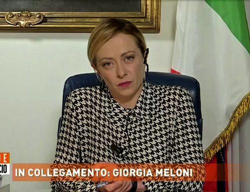 """Giorgia Meloni: """"Basta balle. All'Italia serve chi decide la rotta. Si voti per cambiare il Parlamento"""""""