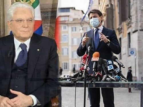 """Il Presidente Mattarella """"irritato"""" per la """"performance da artisti di strada"""". Conte ministro nel governo Draghi, salta tutto?"""