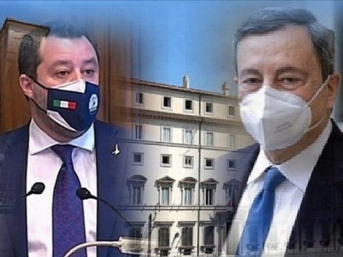 Matteo Salvini Lega manda in tilt il Pd che tenta già agguati a Mario Draghi