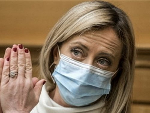 Giorgia meloni contro il leader della Cgil Landini. propone lo ius soli a Mario Draghi
