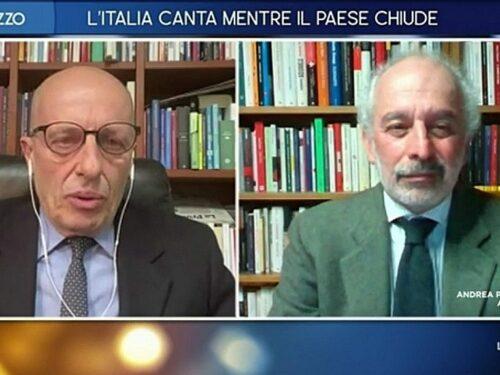 """Otto e Mezzo, Alessandro Sallusti contro Gad Lerner: """"Evviva i generali. Se aspettavamo te…"""""""