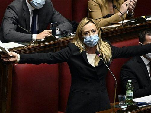 Giorgia Meloni FdI, Scandalo vaccini: «Abbiamo assistito al più grande fallimento dell'Unione europea»