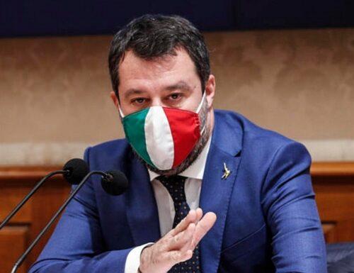 """""""La chiusura non è scontata…"""". Matteo Salvini Lega va in pressing su Mario Draghi"""