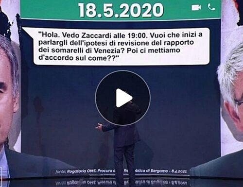 """""""Ecco la chat tra Guerra e Brusaferro"""". Massimo Giletti tira fuori le prove: bomba politica. Perché Speranza ora deve dimettersi"""
