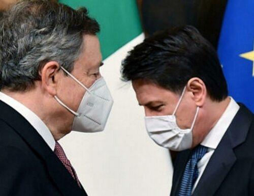 """""""In Italia più morti di tutti"""". Mario Draghi inchioda i giallorossi"""