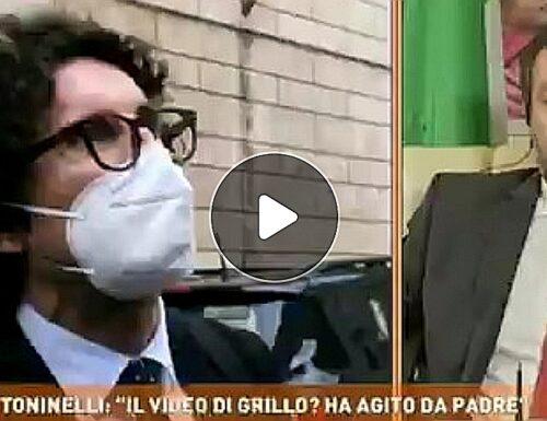 """Dritto e Rovescio, Salvini contro Toninelli in difesa del video di Beppe Grillo: """"Fuori dal mondo, una vergogna"""""""