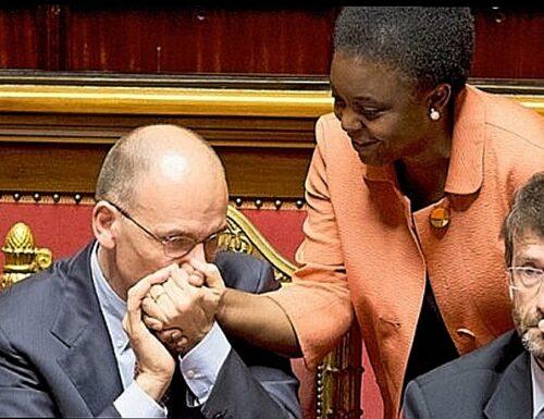 """""""Prima gli immigrati in Parlamento"""". Il Pd di Enrico Letta rispolvera le """"quote riservate"""" della Kyenge"""