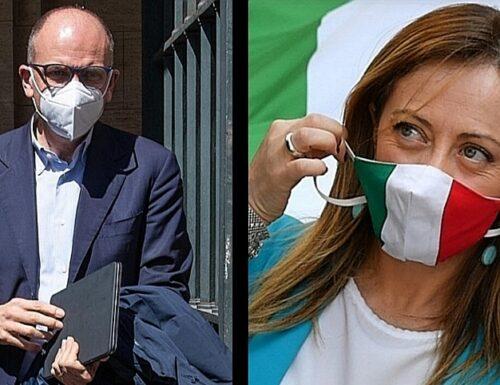 Ius Soli, l'ossessione di Letta: «Lo vogliamo fare». Giorgia Meloni: «Pensa a tutti, tranne che agli italiani»