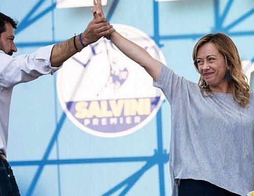 Giorgia Meloni a Salvini: «Insieme siamo forti e vincenti, non prestiamo il fianco a chi ci racconta divisi»