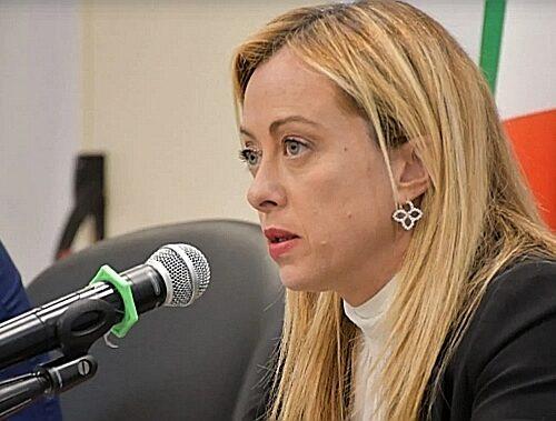 Giorgia Meloni: «FdI è per la libertà, ma a sinistra non c'è una netta condanna del comunismo»