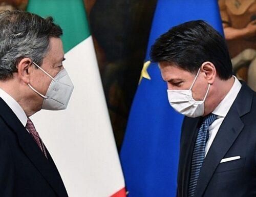 Guerra aperta Draghi-Conte: Cina cancellata. Ora il problema è Beppe Grillo