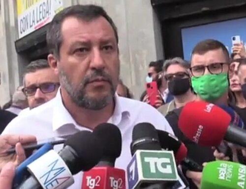 Letta: «Mai più con la Lega». Matteo Salvini: «Il Pd cerca nuovi elettori perché gli italiani non lo votano»