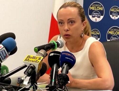 """Giorgia Meloni contro Montanari: """"Mi fa pena, qualcuno fermi questi nuovi talebani"""""""