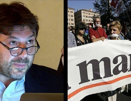 """Soccorso rosso per Tomaso Montanari: il Manifesto raccoglie firme per il rettore, che insulta """"Il Foglio"""""""