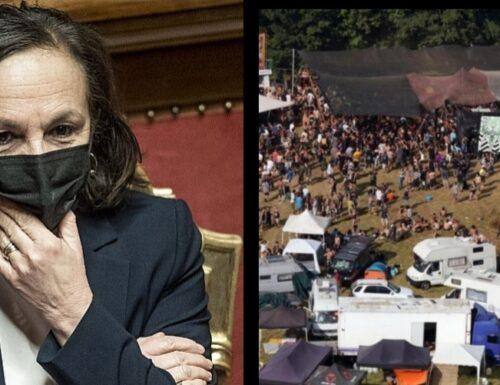 Esplode il caso Luciana Lamorgese-rave: i camper di Valentano furono scortati da carabinieri e polizia