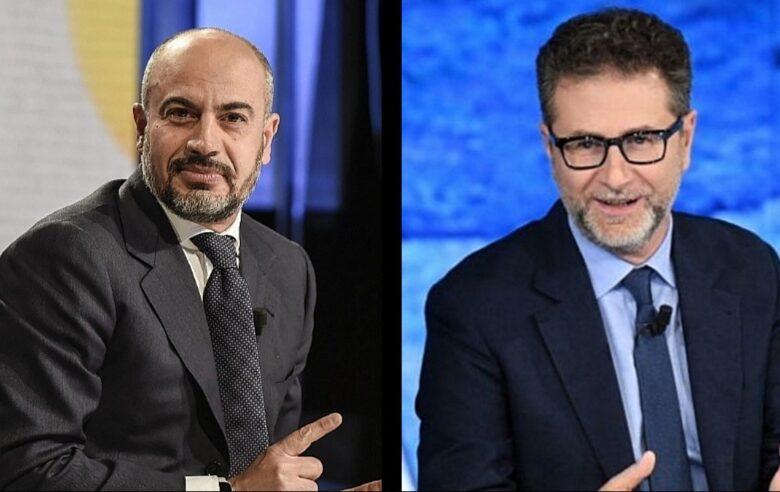 """No vax e il veto in tv, Paragone contro Fazio: """"Dimentica l'abc della democrazia"""""""