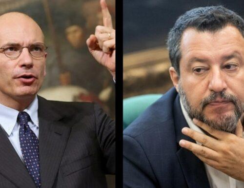 Le mine sotto Draghi (Ddl Zan e Ius soli) le piazza Enrico Letta. Ma al Governo, lo sfasciacarrozze è Salvini.