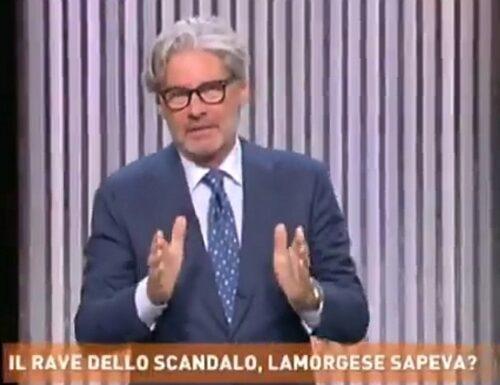 Rave party, Paolo Del Debbio dà una legnata alla Lamorgese: «Ministro, umilmente le dico…» (video)