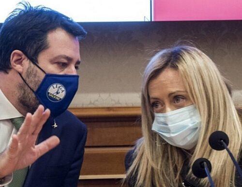 Tasse, Matteo Salvini minaccia Draghi: «Non avallo una patrimoniale». Meloni: «Noi sulle barricate»